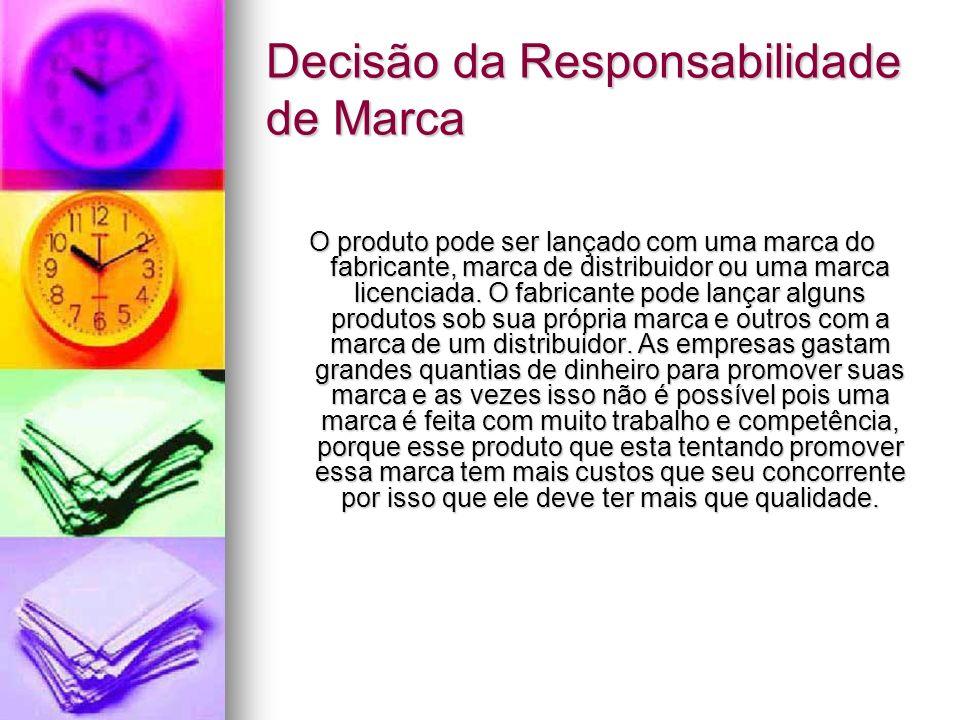 Decisão da Responsabilidade de Marca