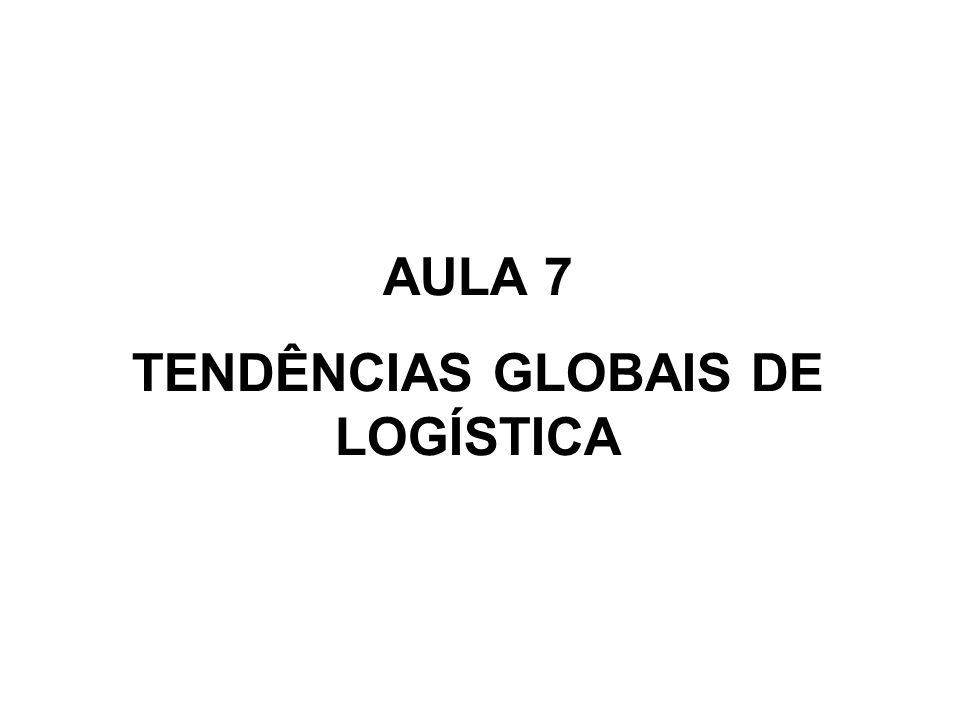 TENDÊNCIAS GLOBAIS DE LOGÍSTICA