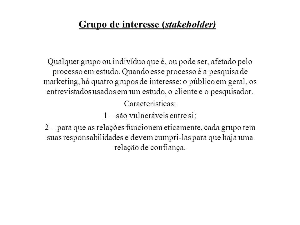Grupo de interesse (stakeholder)