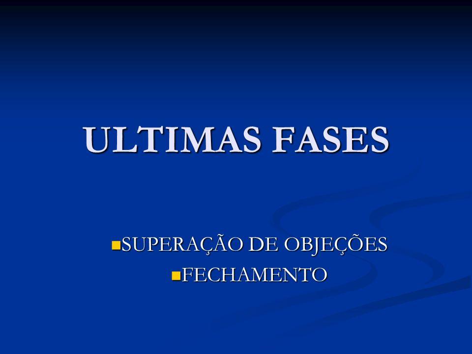 SUPERAÇÃO DE OBJEÇÕES FECHAMENTO