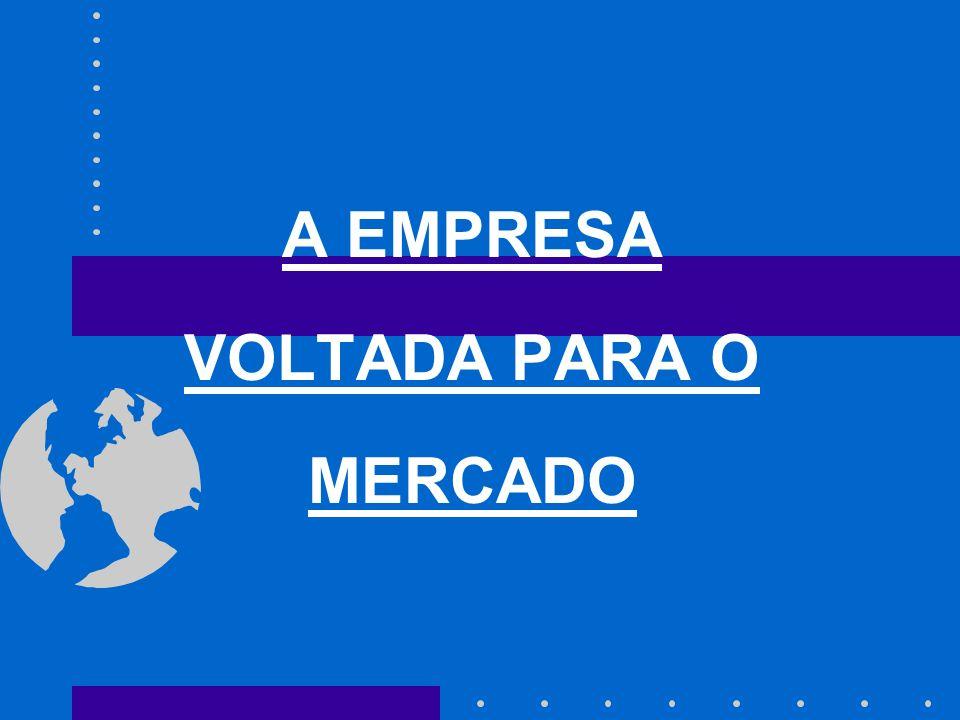 A EMPRESA VOLTADA PARA O MERCADO