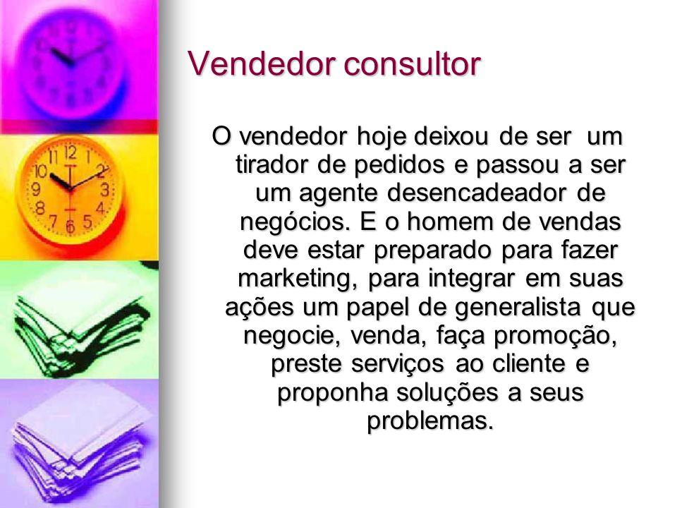 Vendedor consultor