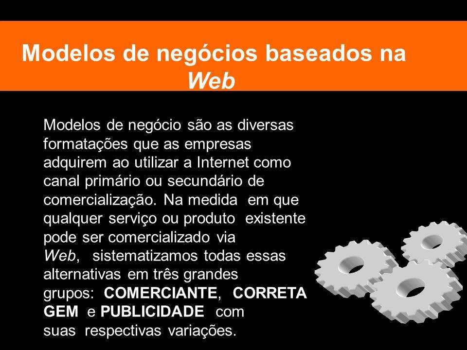 Modelos de negócios baseados na Web