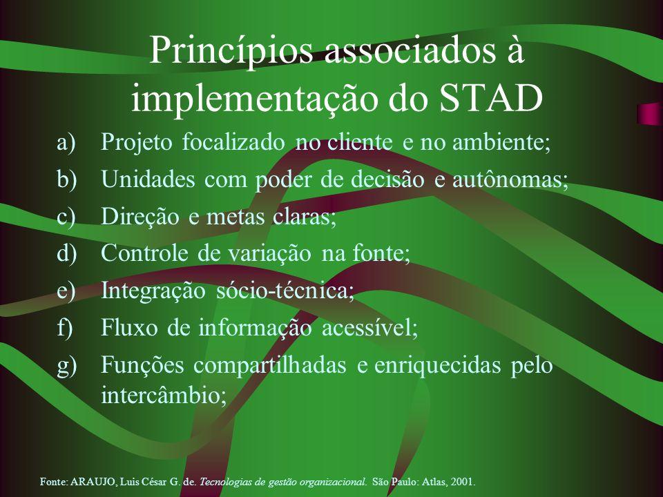 Princípios associados à implementação do STAD