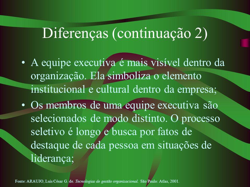 Diferenças (continuação 2)