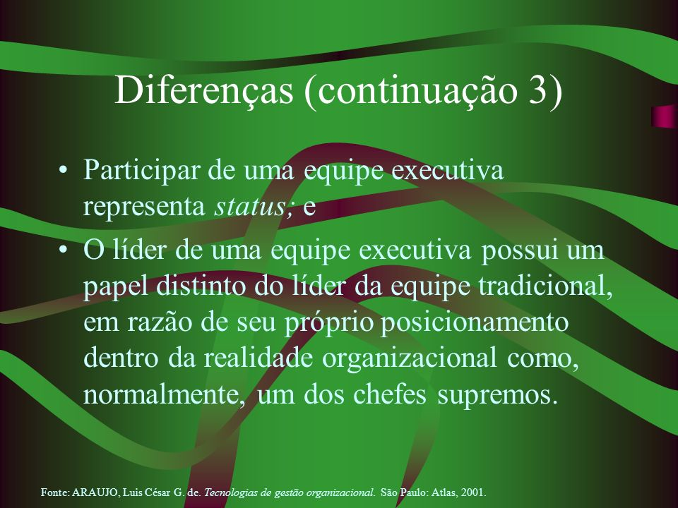 Diferenças (continuação 3)