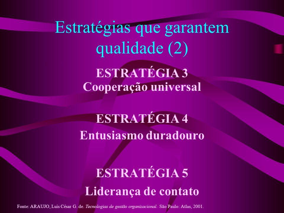 Estratégias que garantem qualidade (2)