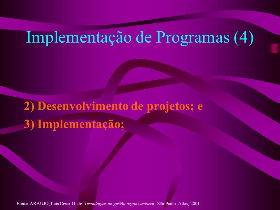 Implementação de Programas (4)