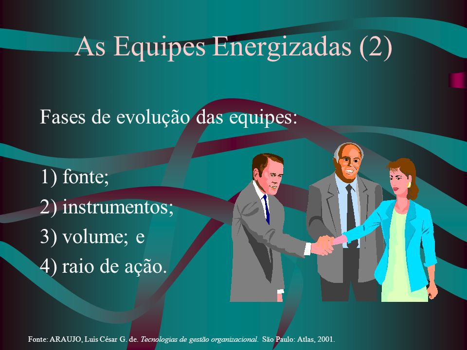 As Equipes Energizadas (2)