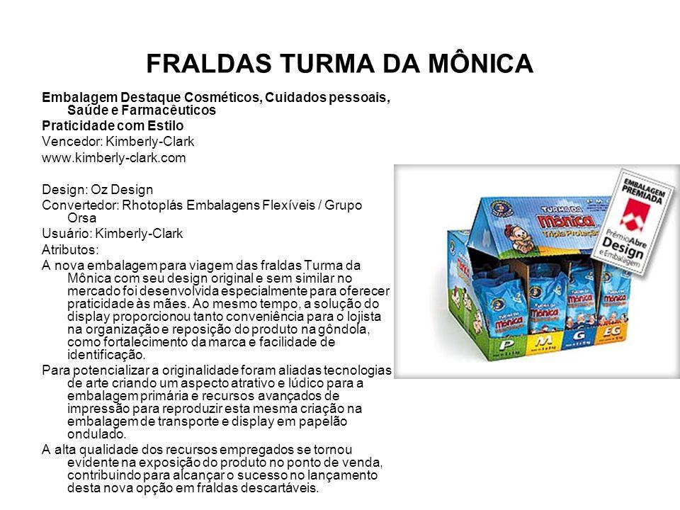 FRALDAS TURMA DA MÔNICA