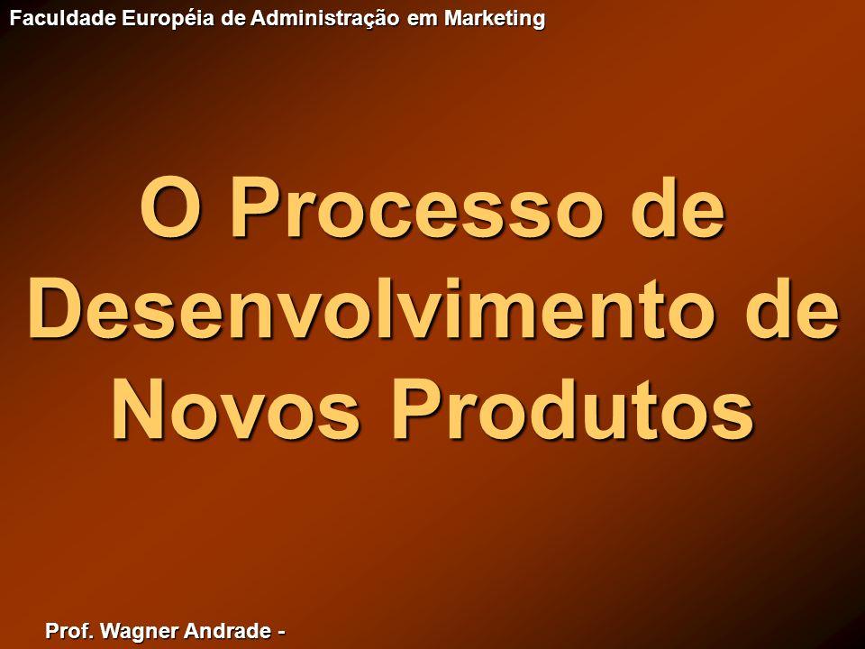 O Processo de Desenvolvimento de Novos Produtos
