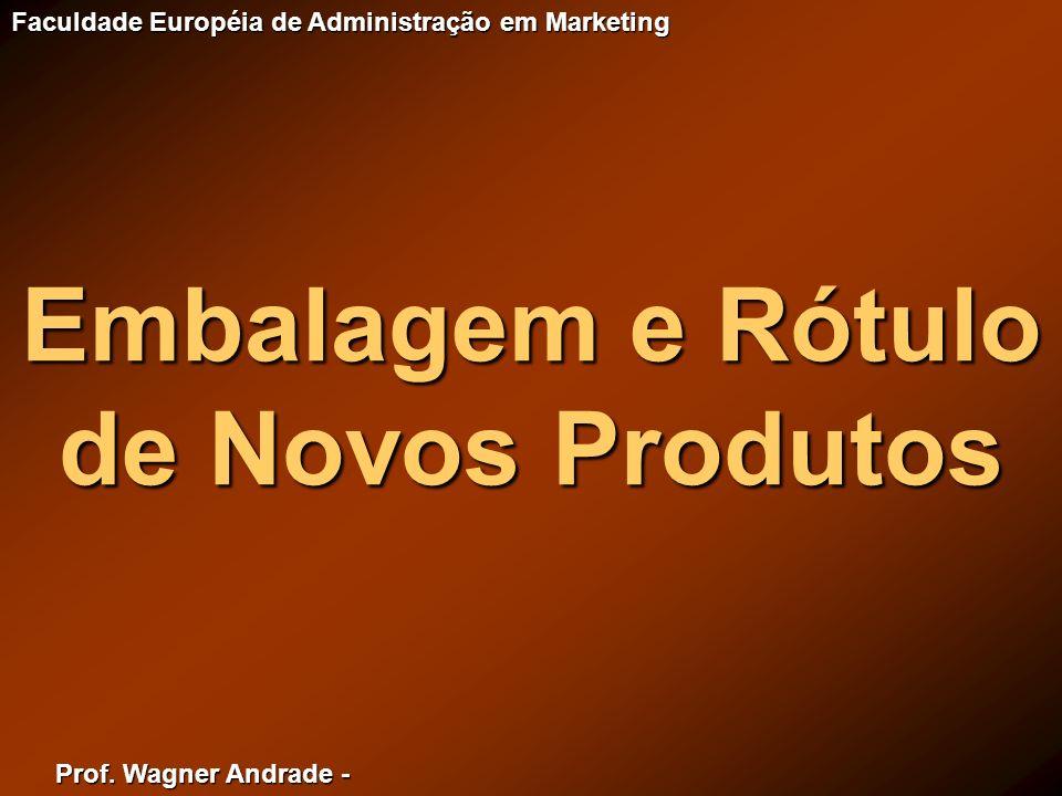 Embalagem e Rótulo de Novos Produtos