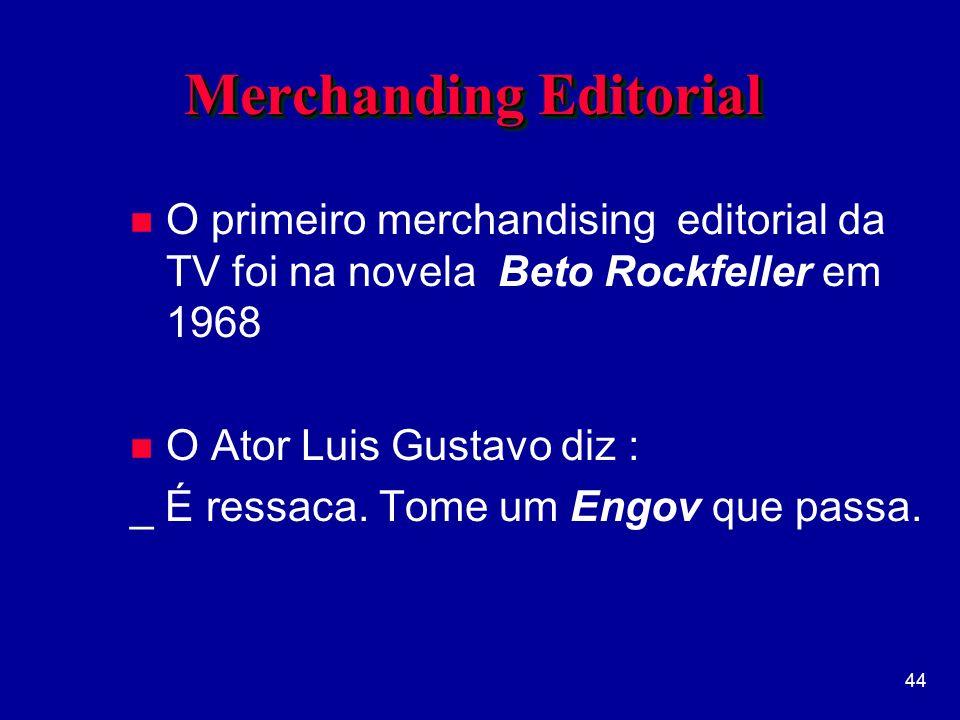 Merchanding Editorial