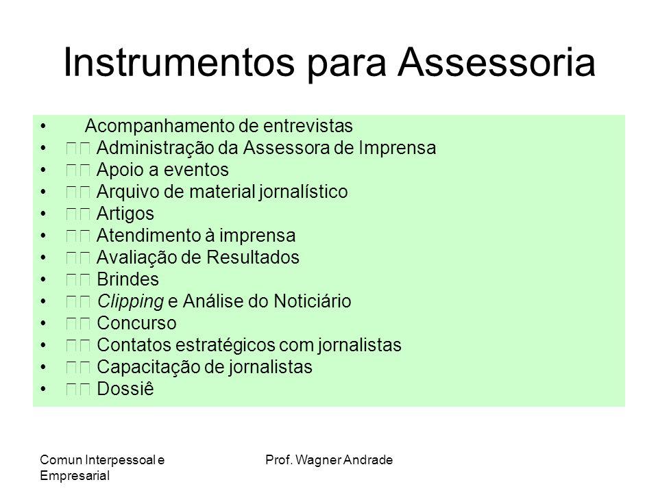 Instrumentos para Assessoria