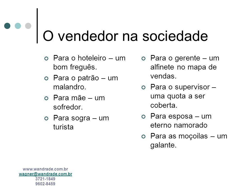 O vendedor na sociedade