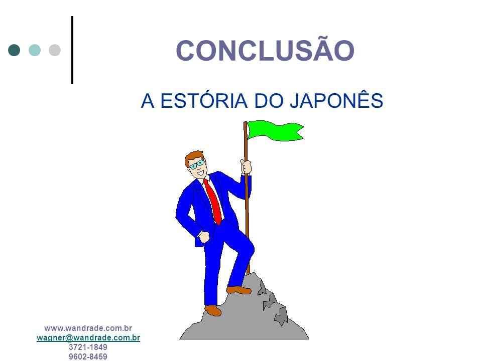 CONCLUSÃO A ESTÓRIA DO JAPONÊS
