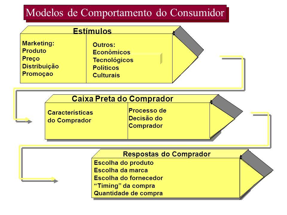 Modelos de Comportamento do Consumidor