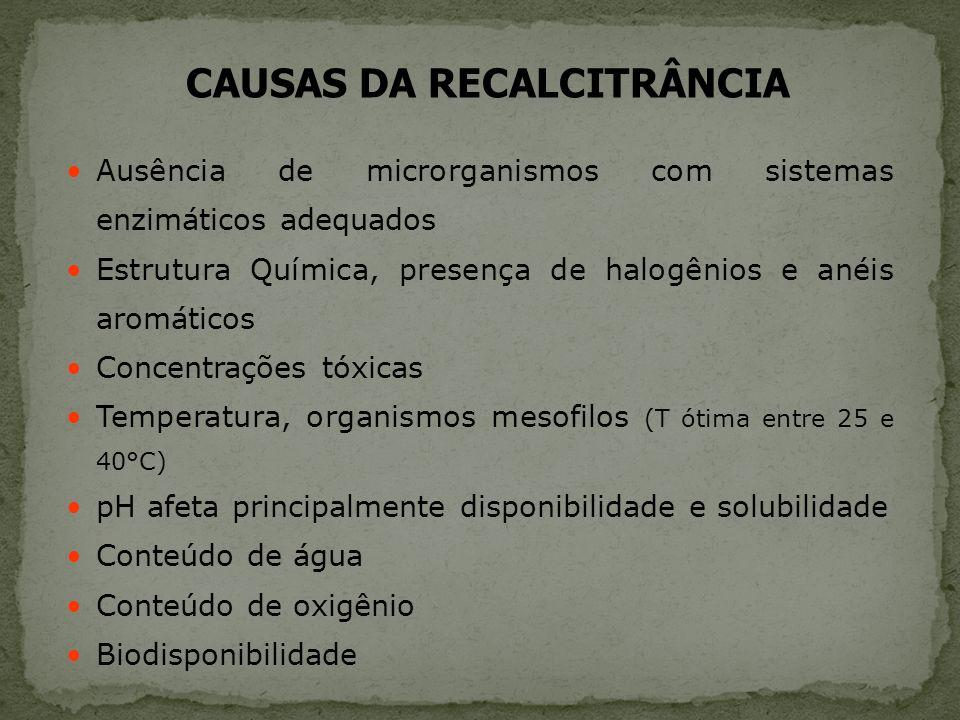 CAUSAS DA RECALCITRÂNCIA