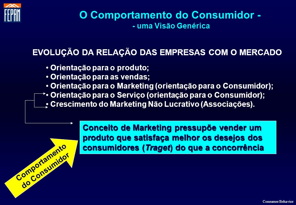 O Comportamento do Consumidor -