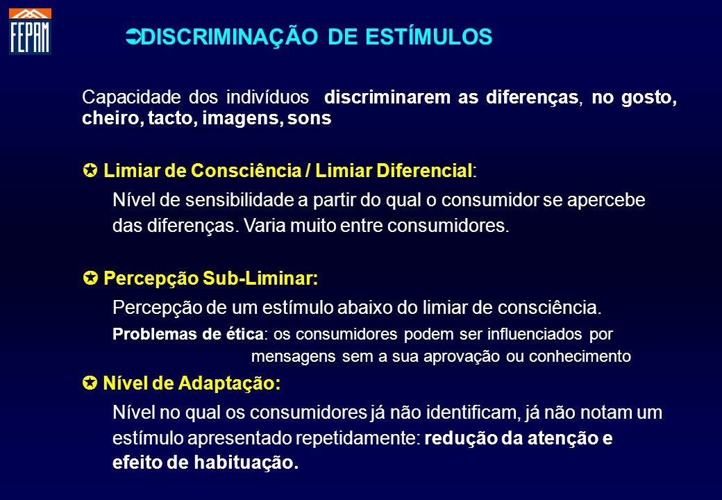 DISCRIMINAÇÃO DE ESTÍMULOS