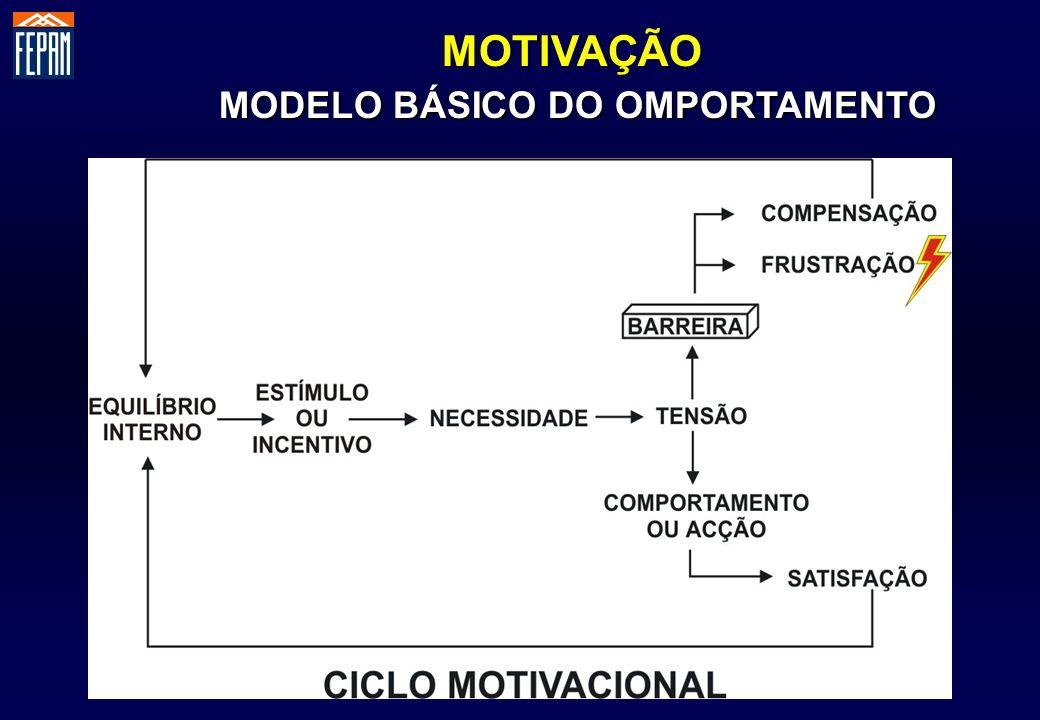 MODELO BÁSICO DO OMPORTAMENTO
