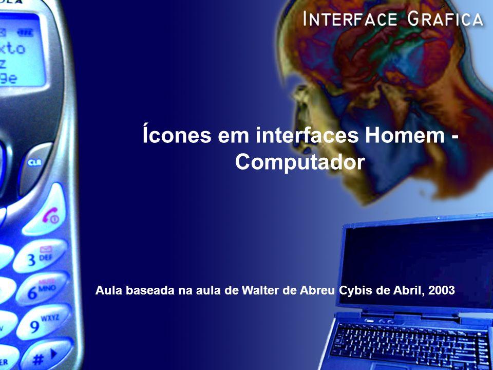 Ícones em interfaces Homem - Computador
