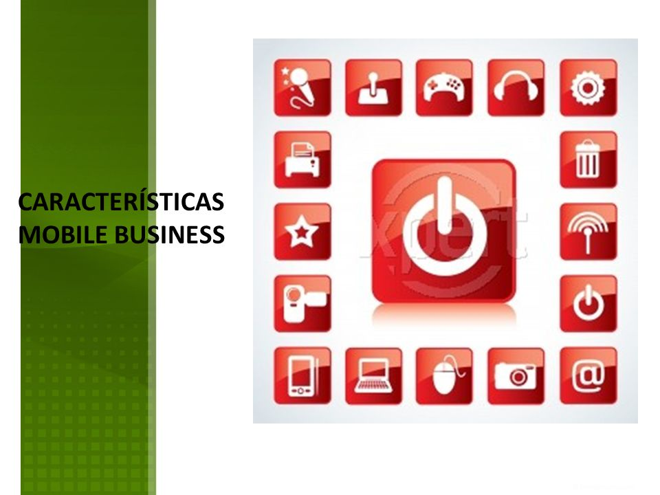 CARACTERÍSTICAS MOBILE BUSINESS