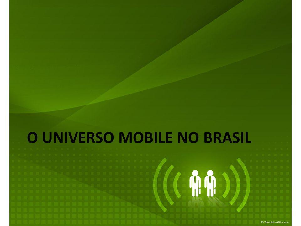O UNIVERSO MOBILE NO BRASIL