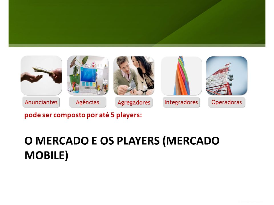 O MERCADO E OS PLAYERS (MERCADO MOBILE)
