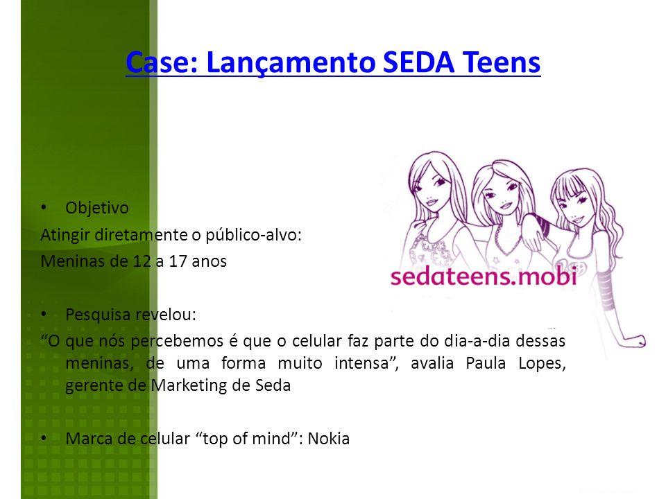 Case: Lançamento SEDA Teens