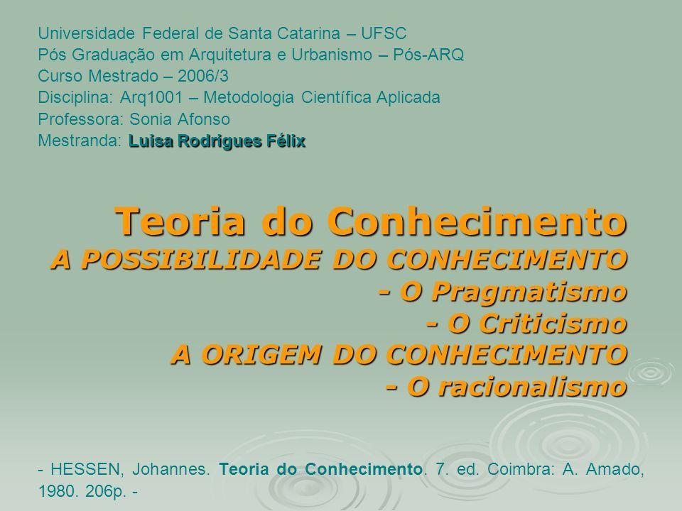 Universidade Federal de Santa Catarina – UFSC