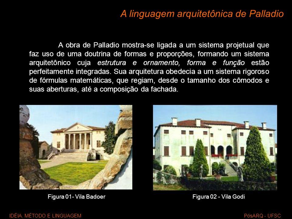 A linguagem arquitetônica de Palladio