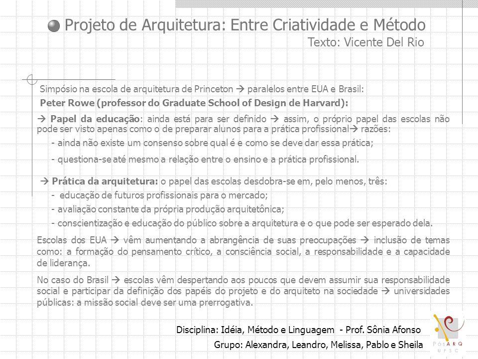 Simpósio na escola de arquitetura de Princeton  paralelos entre EUA e Brasil: