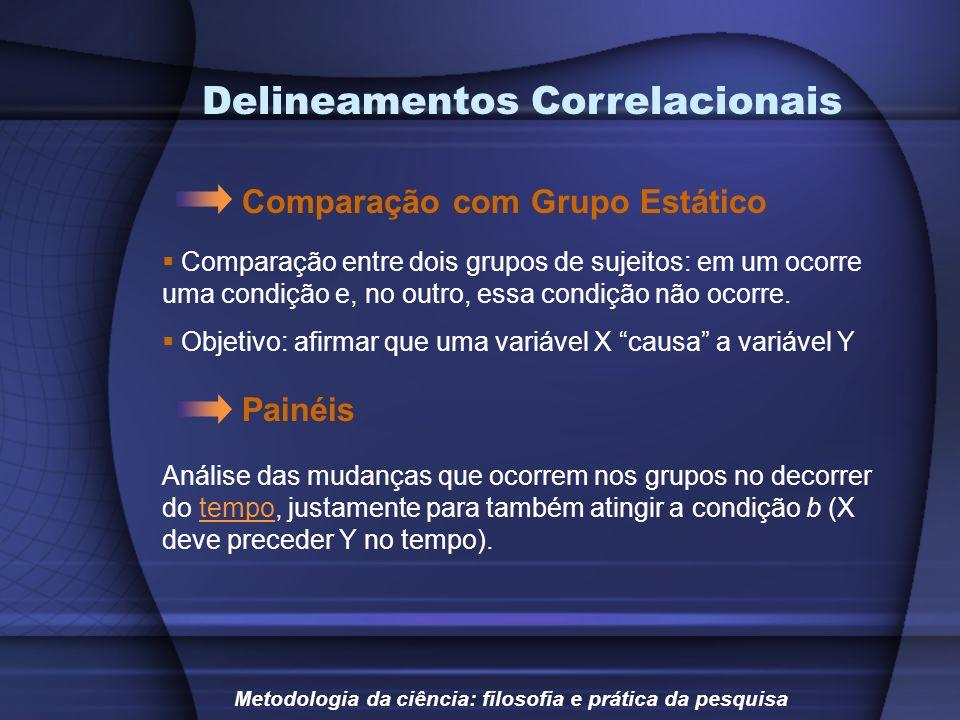 Delineamentos Correlacionais
