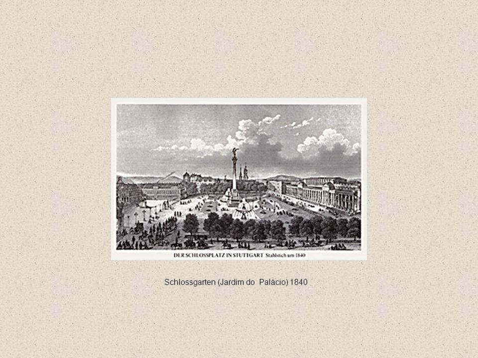 Schlossgarten (Jardim do Palácio) 1840