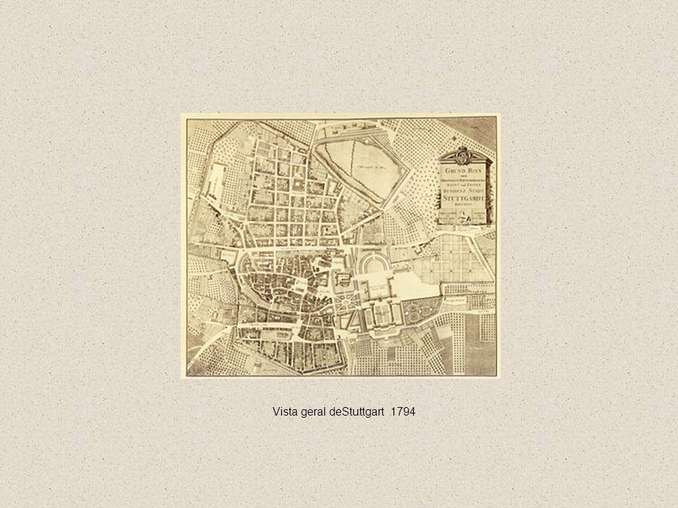 Vista geral deStuttgart 1794