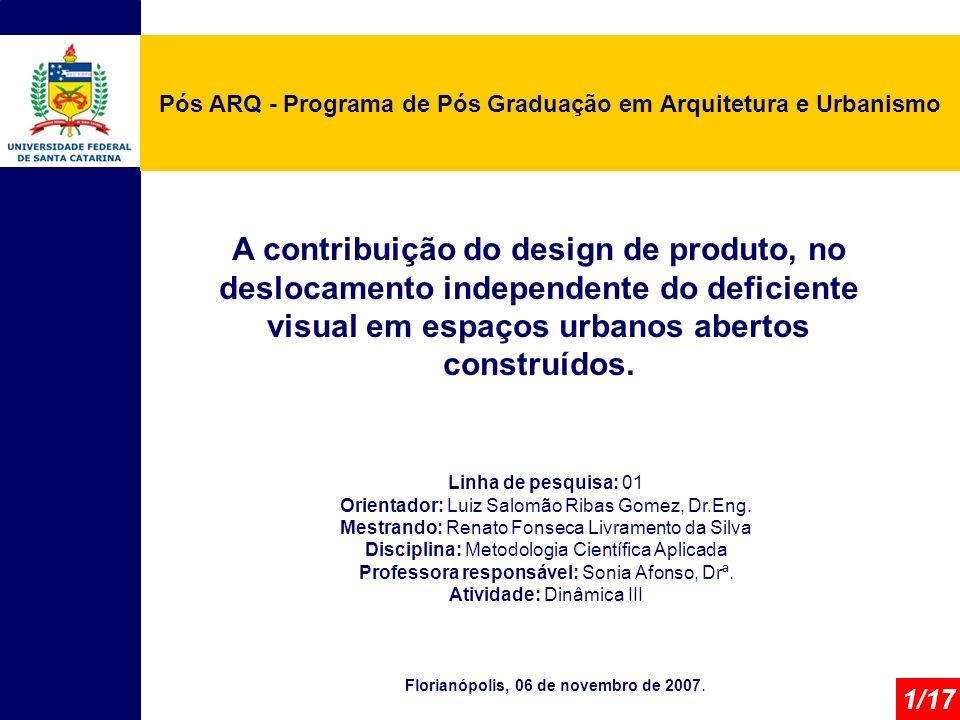 Pós ARQ - Programa de Pós Graduação em Arquitetura e Urbanismo