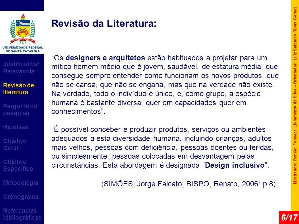 Revisão da Literatura: