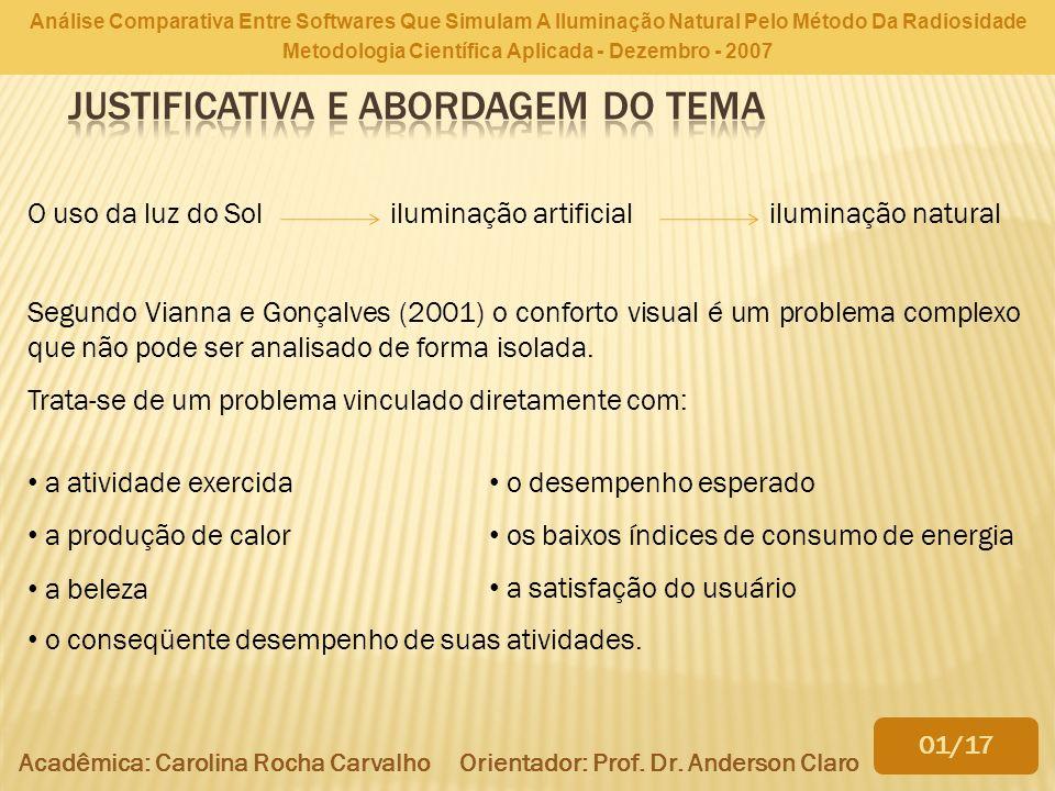 Metodologia Científica Aplicada - Dezembro - 2007