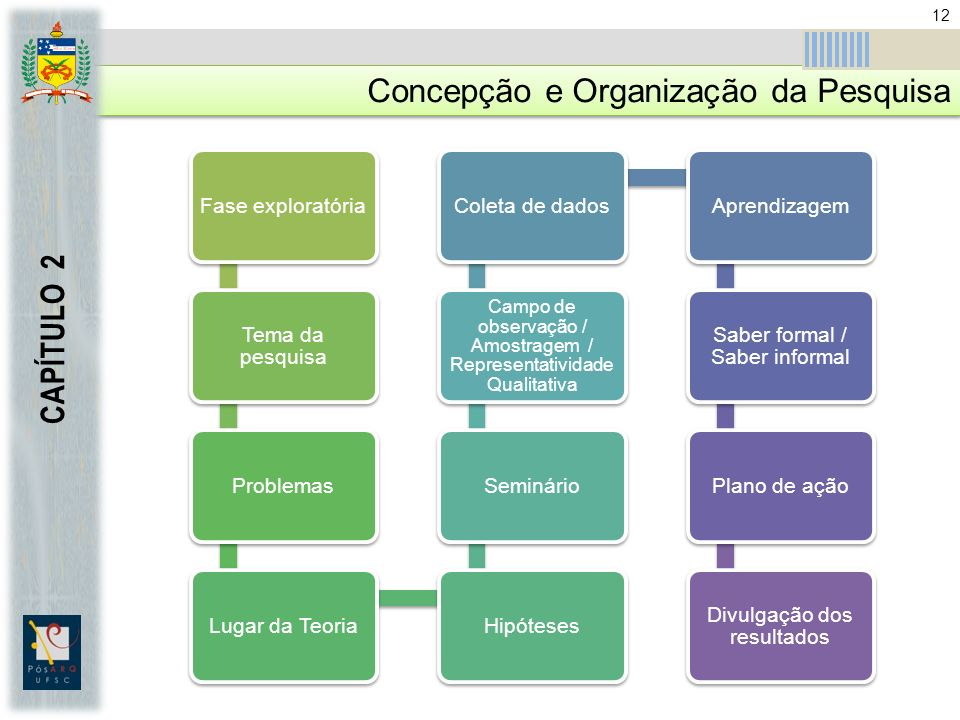 Concepção e Organização da Pesquisa