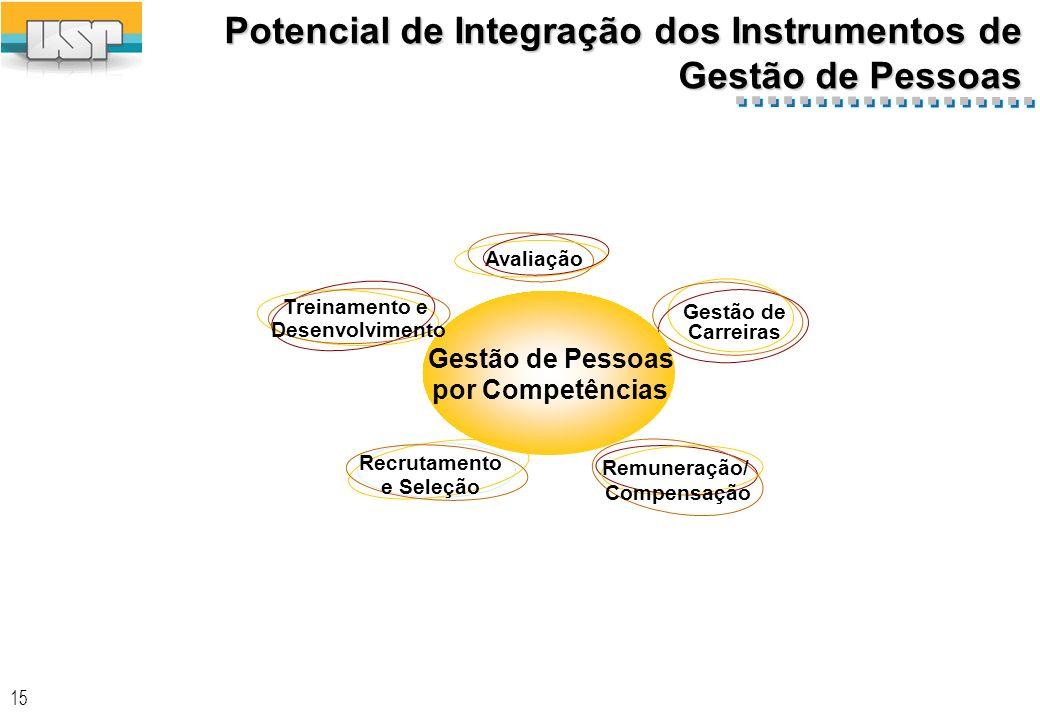 Potencial de Integração dos Instrumentos de Gestão de Pessoas