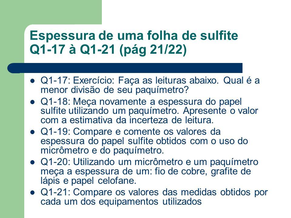 Espessura de uma folha de sulfite Q1-17 à Q1-21 (pág 21/22)