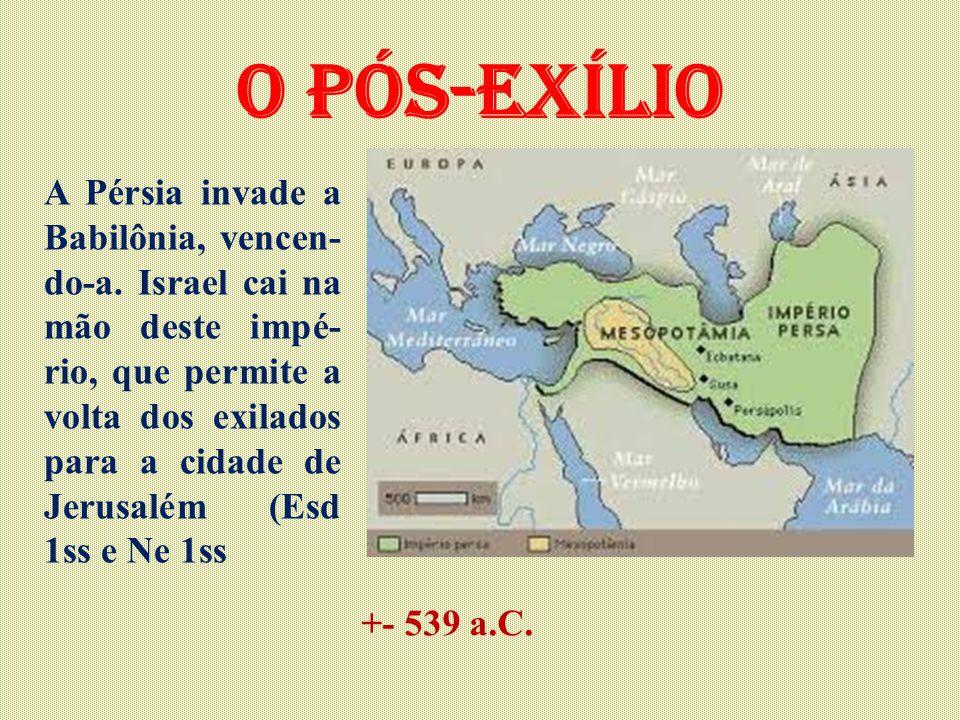 O pós-exílio