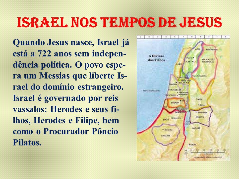 israel nos tempos de Jesus