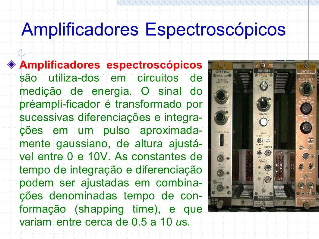 Amplificadores Espectroscópicos
