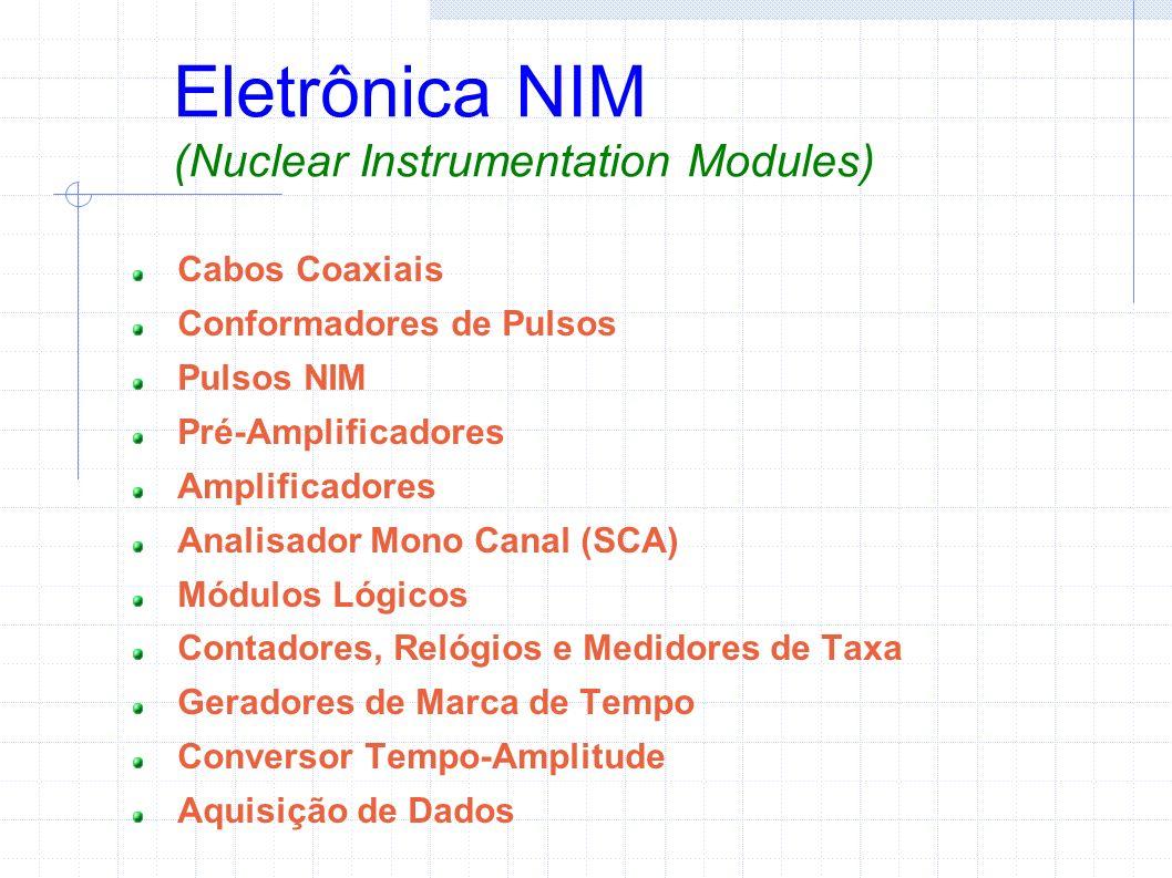 Eletrônica NIM (Nuclear Instrumentation Modules)