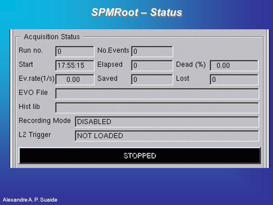 SPMRoot – Status Alexandre A. P. Suaide