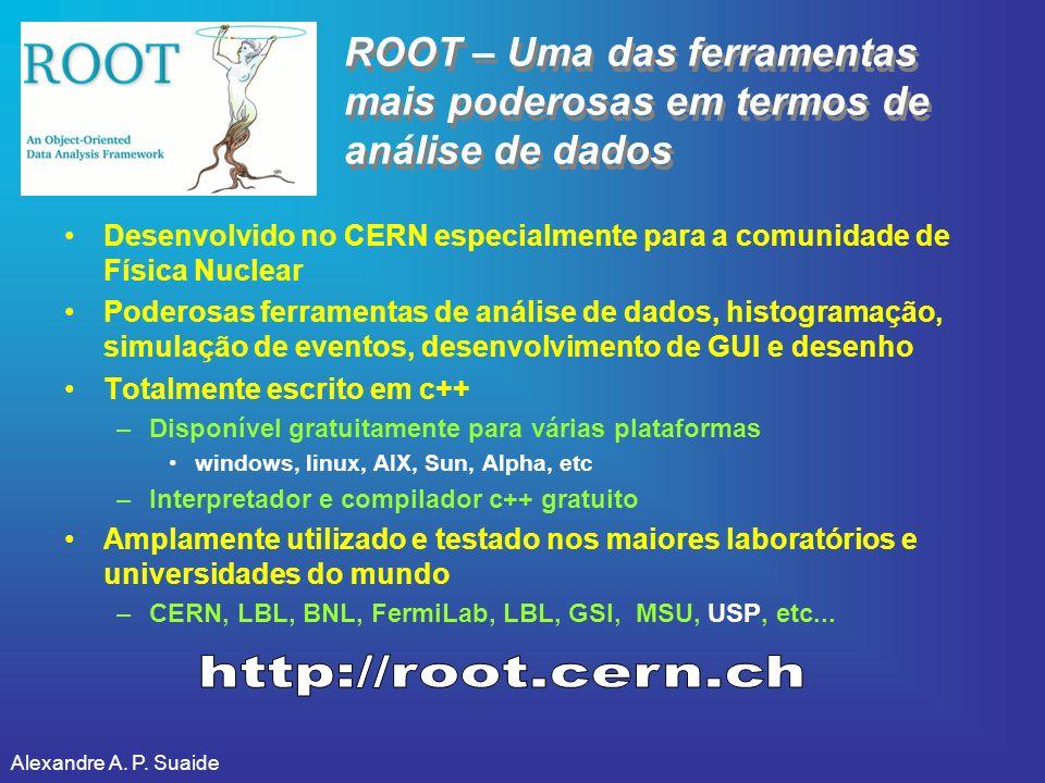 ROOT – Uma das ferramentas mais poderosas em termos de análise de dados