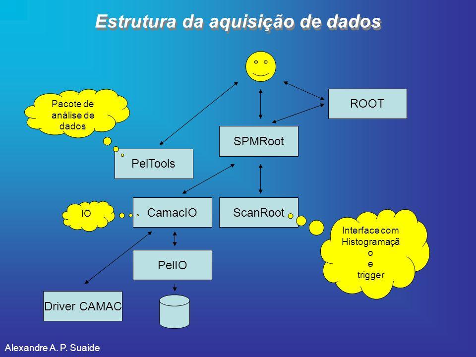 Estrutura da aquisição de dados