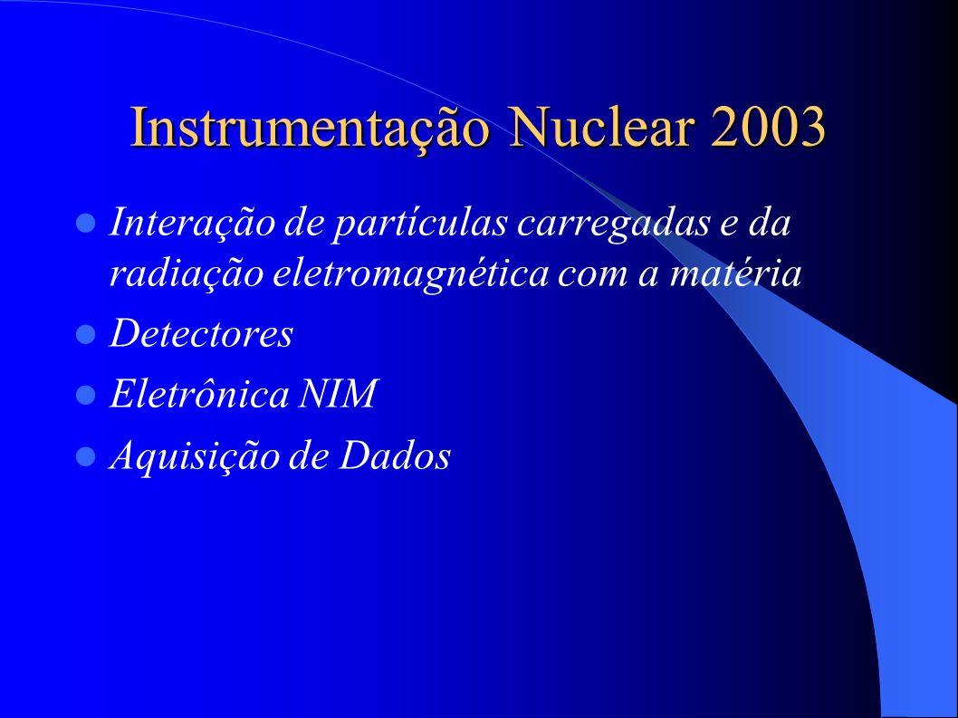 Instrumentação Nuclear 2003